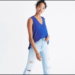 Madewell | Day Bloomer Popover in Brilliant Royal